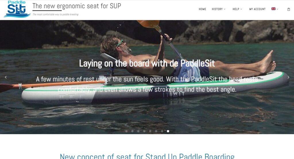 PaddleSit web